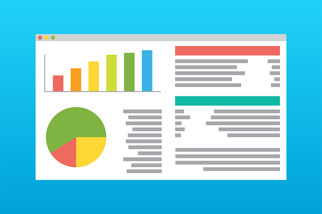 Web browser window full of nonprofit accounting charts and graphs
